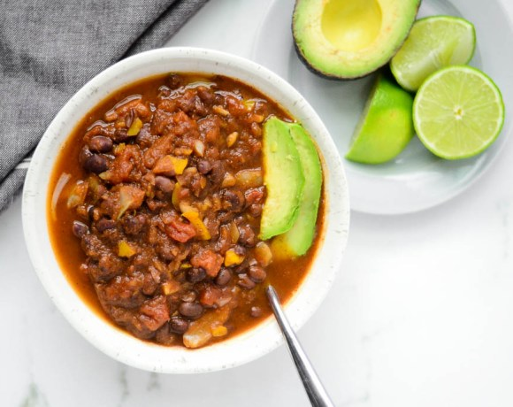 Spicy Pumpkin & Black Bean Chili