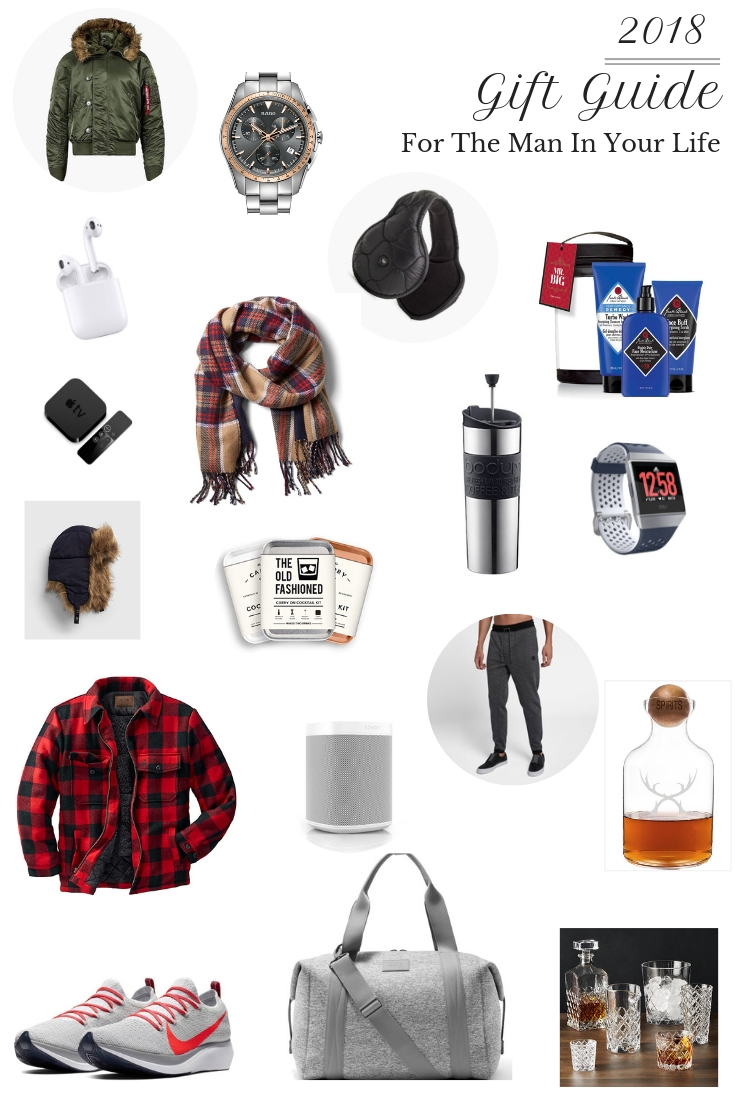 You'll love this Ultimate Gift Guide for Men! Whether you're shopping for a holiday gift or a birthday present, it has all the gift inspiration you'll need! #giftguide #giftideas #giftsforhim