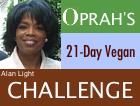 Vegan.com's Oprah Challenge Logo