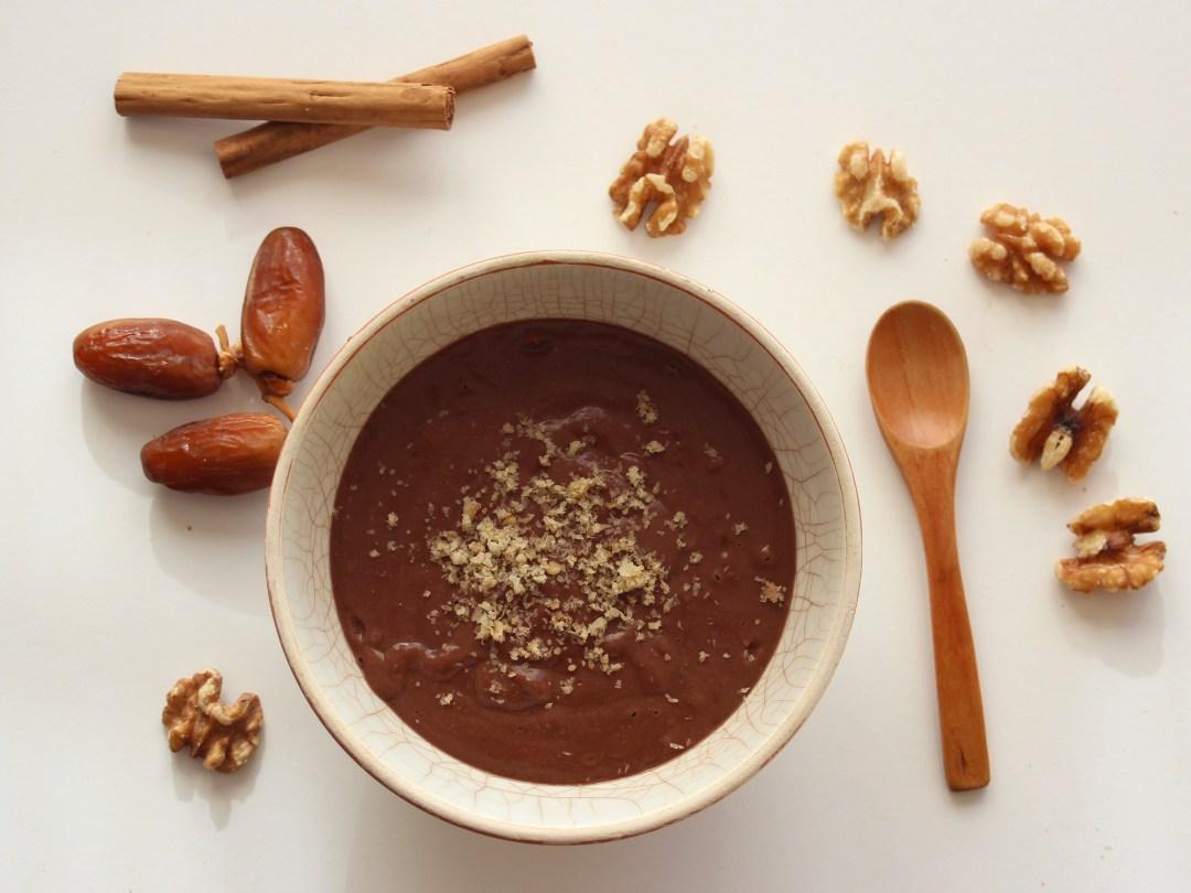 Un delicioso Batido de Chocolate Cremoso