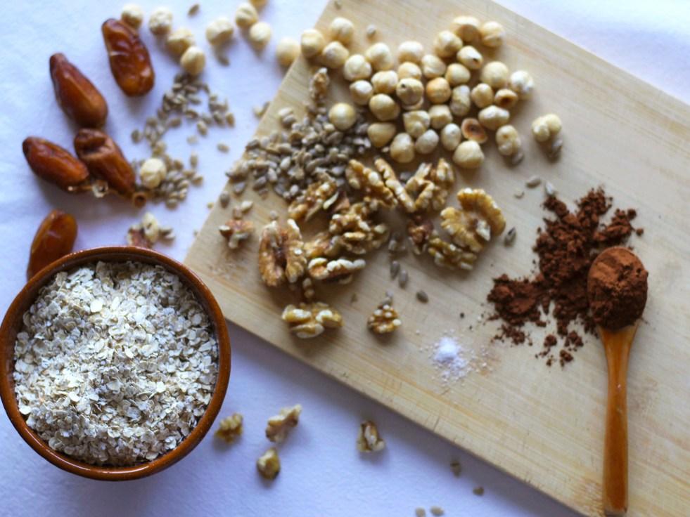 Ingredientes de la porridge o Gachas de Avena