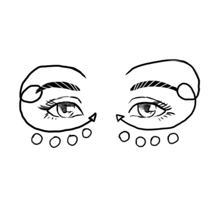 Masaje al Contorno de Ojos