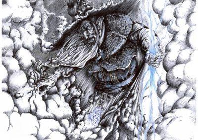 El Nuberu (Dibujo de Roberto Suárez)