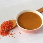 Reconfortante Sopa de Lentejas  Rojas