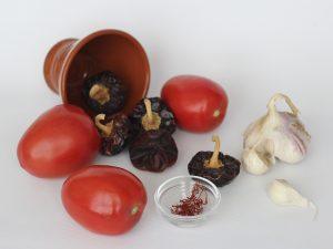 Estos son los ingredientes de una salmorreta