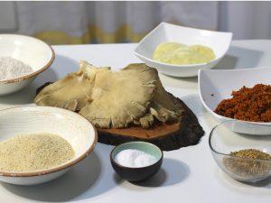 Ingredientes para el Cachopo Vegano