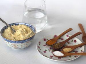 Ingredientes Para Hacer Tofu de Garbanzos