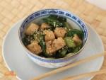 Salteado de Tofu y Pak Choi