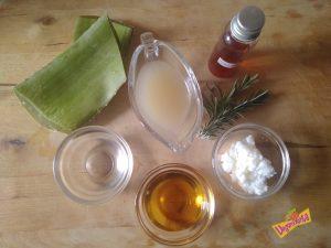 Ingredientes Crema Reparadora de Manos