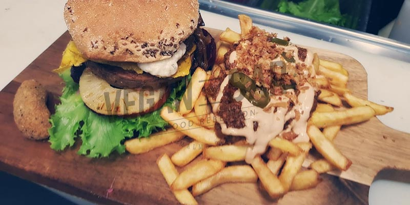 The Hangover Burger