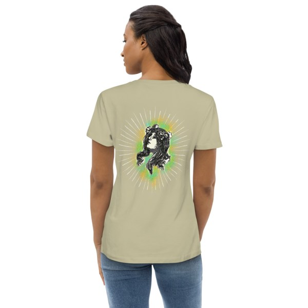 Sage Back - Pow – Women's Fitted Organic Tee