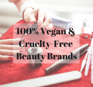 100 percent vegan beauty brands
