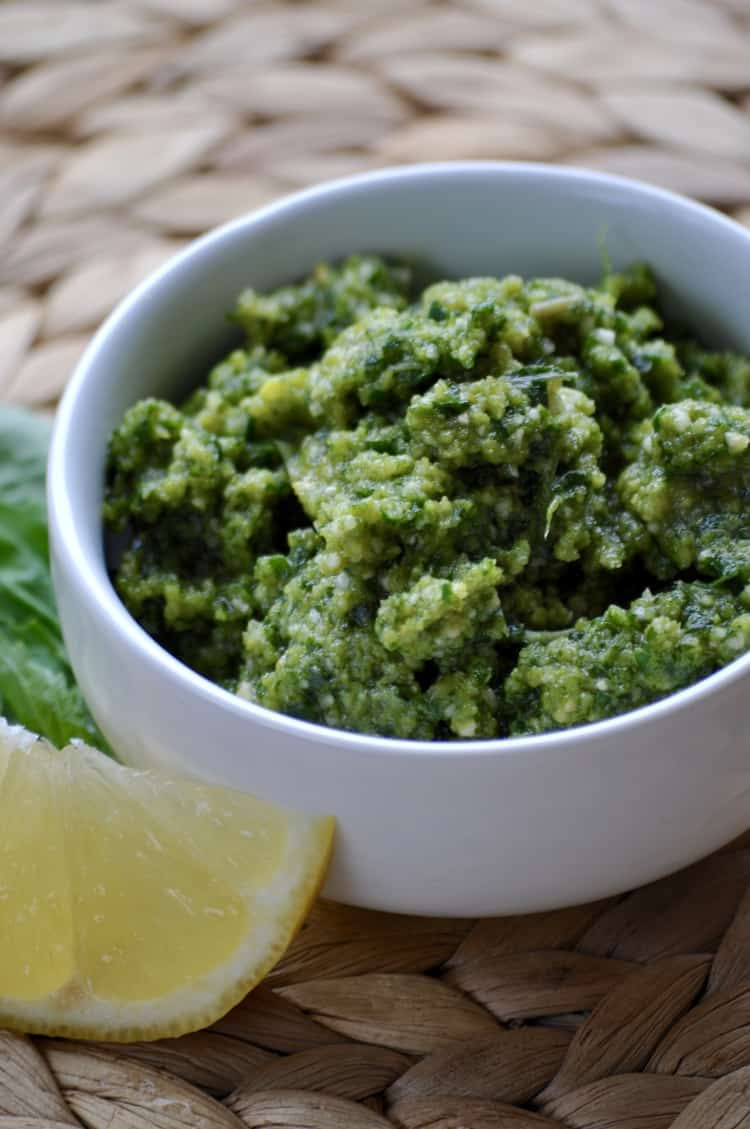 Perfect Vegan Pesto
