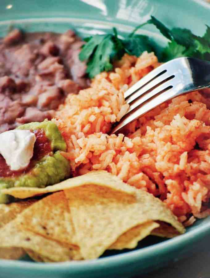 Savory Vegan Mexican Rice