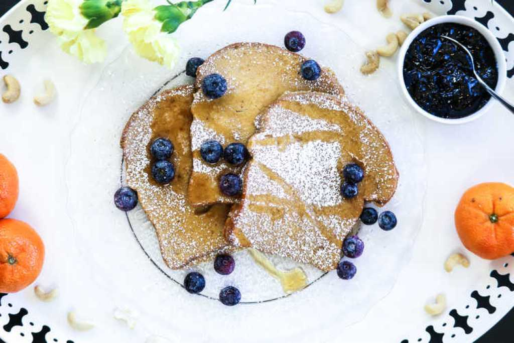 Orange French Toast (vegan) http://www.veganblueberry.com