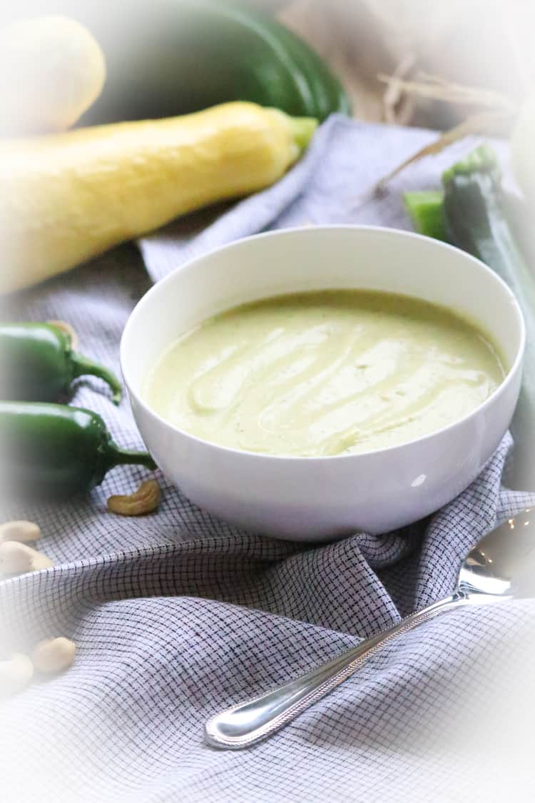 Cream of Zucchini https://www.veganblueberry.com