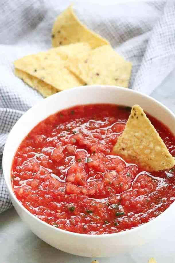 Time to best salsa ETA 5 min!!!