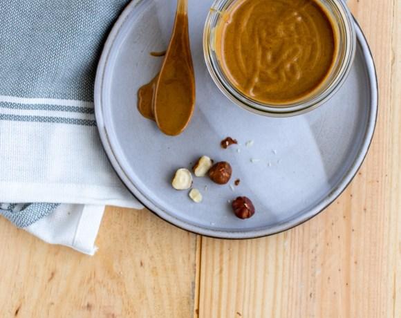 Beurre ou pâte de noisette maison