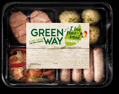 Vegan facile et au supermarché - plateau gourmet 100% végétal - vegan au supermarché