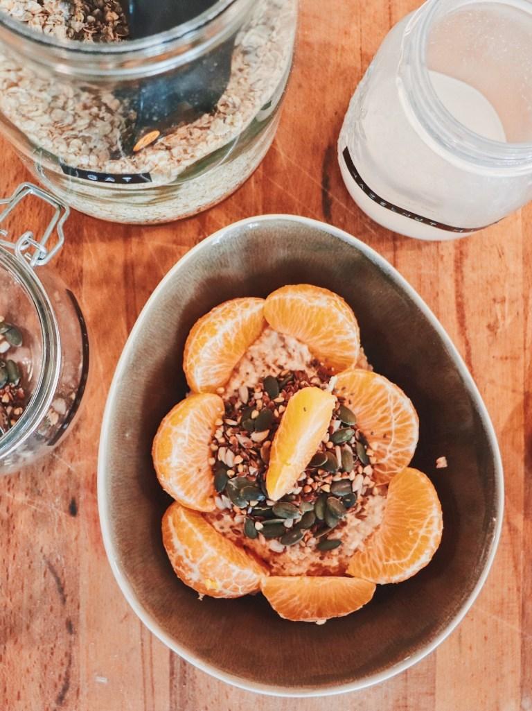 Porridge aux saveurs hivernales