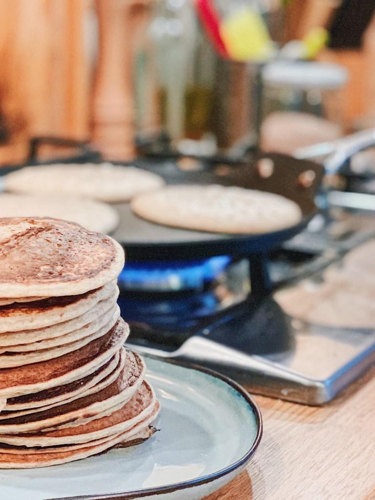 Pancakes facile aux flocons d'avoine