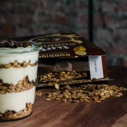 Banana bread style porridge