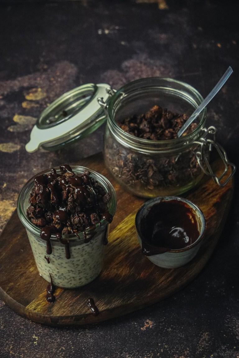 Granola au chocolat maison