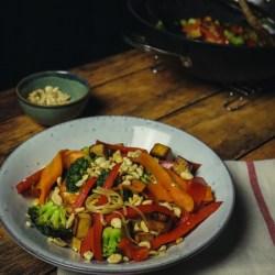 Pad Thai facile et protéiné - vegan facile