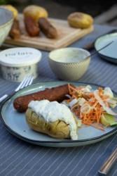 Sauce Concombre et ciboulette - recette avec Pal'ais - fromage végétale
