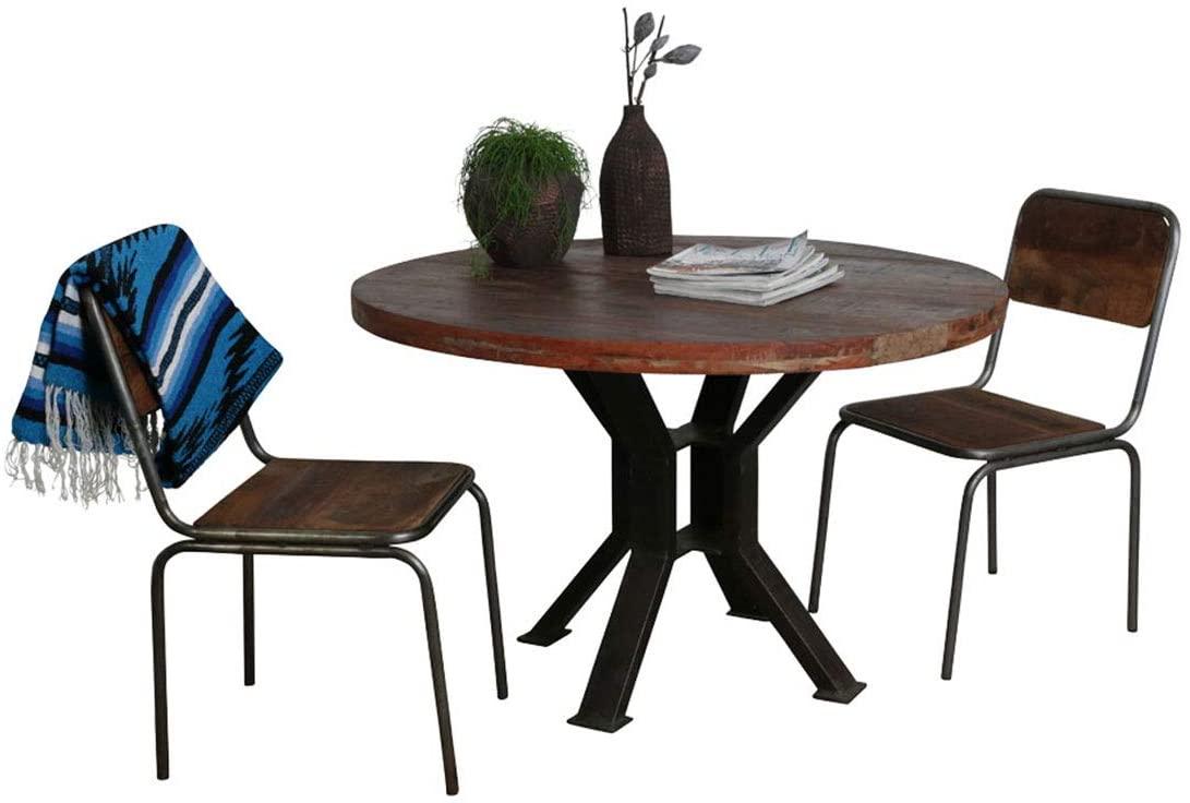 Wishlist - liste de souhaits - Table salle à manger ronde en bois vintage