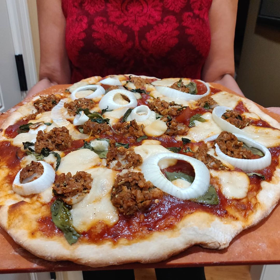 couple of vegan pizzas today multip img 0 e7f2503a