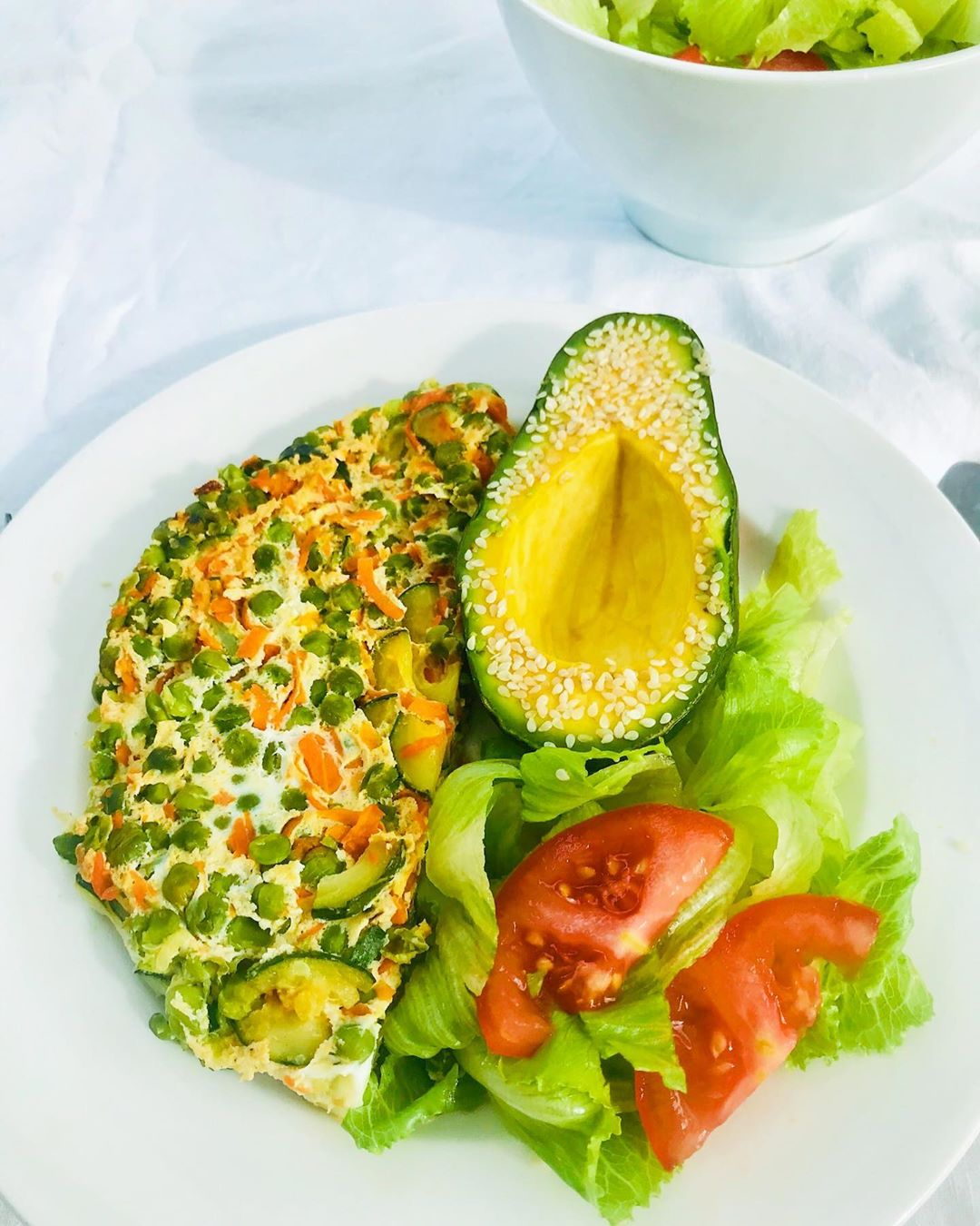 hi yall for todays lunch a  healthy green display image  29905e4c