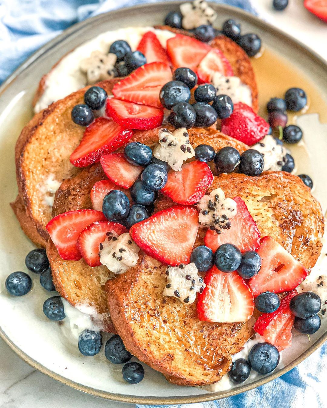 red white and blue vegan french toast for your july 4th week multip img 0 21cf606b