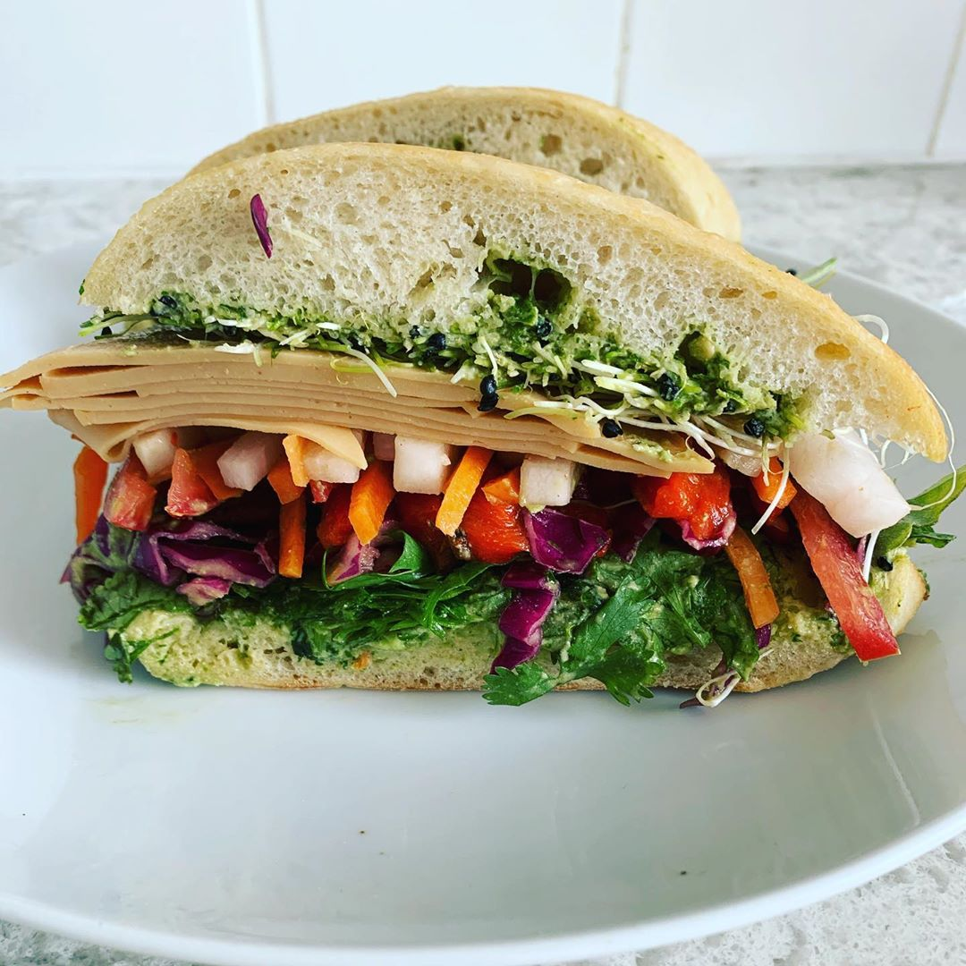 this rainbow sandwich is not only beautiful and colourful i display image  2122b436