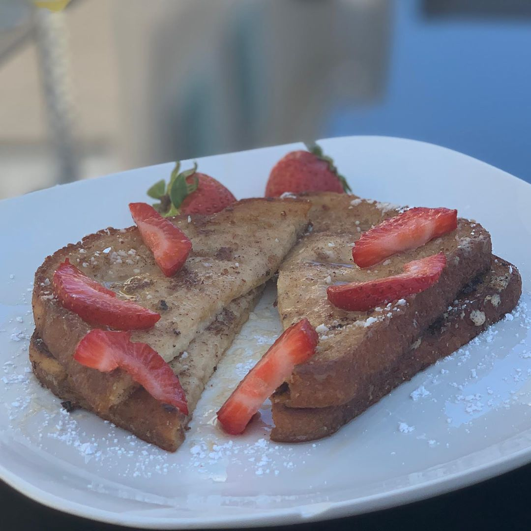vegan french toast hello yall & happy friday a few days display image  00d3f543