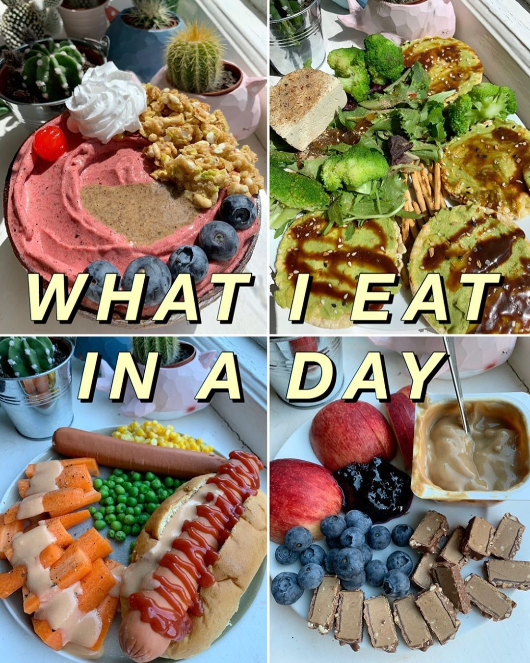 vegan what i eat in a day  when things go wrong display image  b34123ce