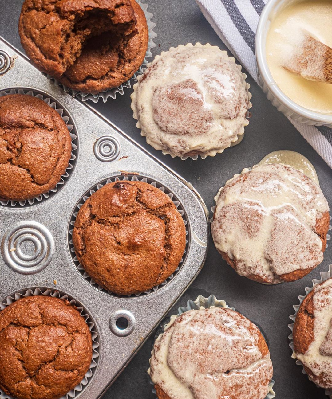 healthy flourless cinnamon cupcakes easy and delicious sw display image  782d75fe