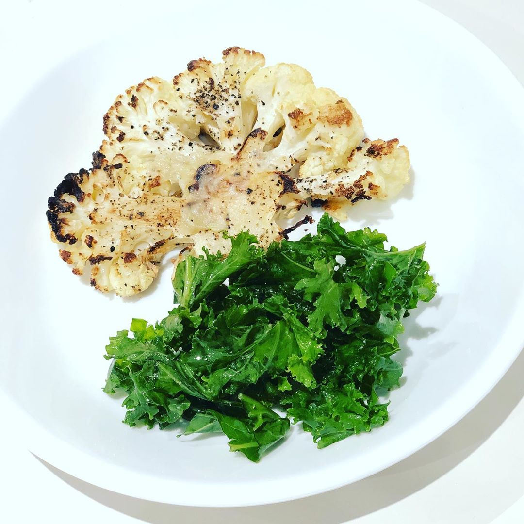 healthy lunches be like roasted cauliflower with a side o display image  1d0450b1
