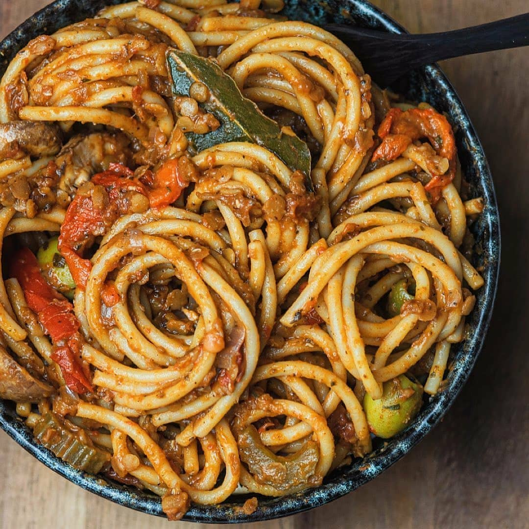 lentil bolognese by the clumsy vegan  a delicious bowl display image  06c8d75a