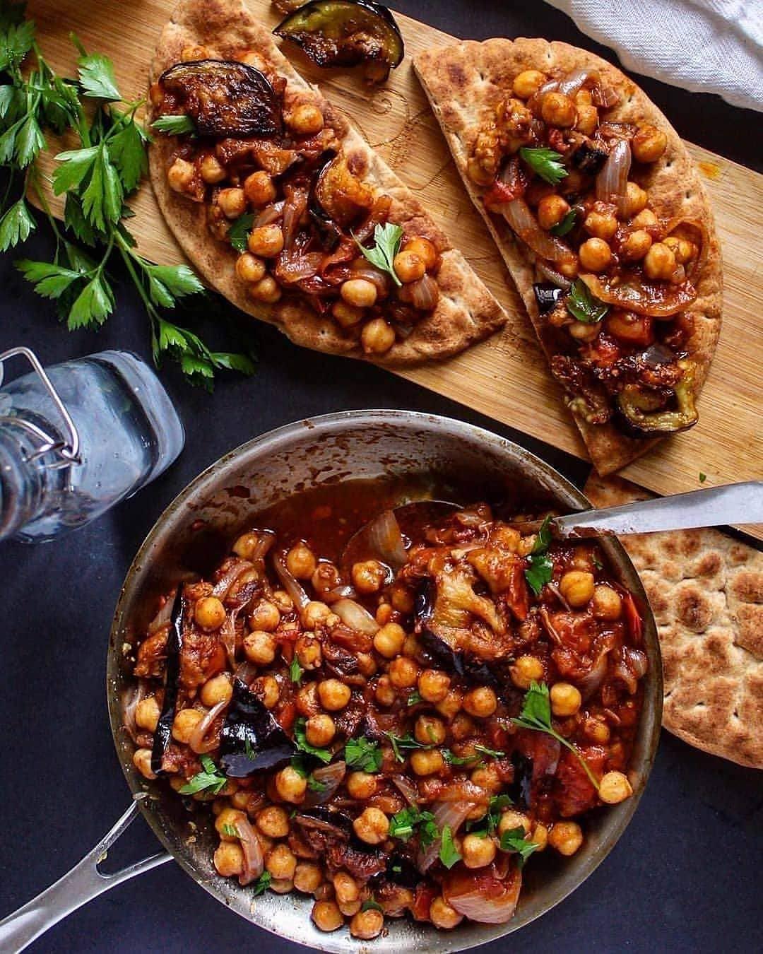 maghmour is a simple lebanese stew with grilled eggplant fr display image  0a238933