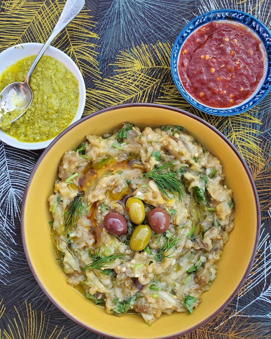 nutritious and easy to make this smoked eggplant mash is a display image  910657cf