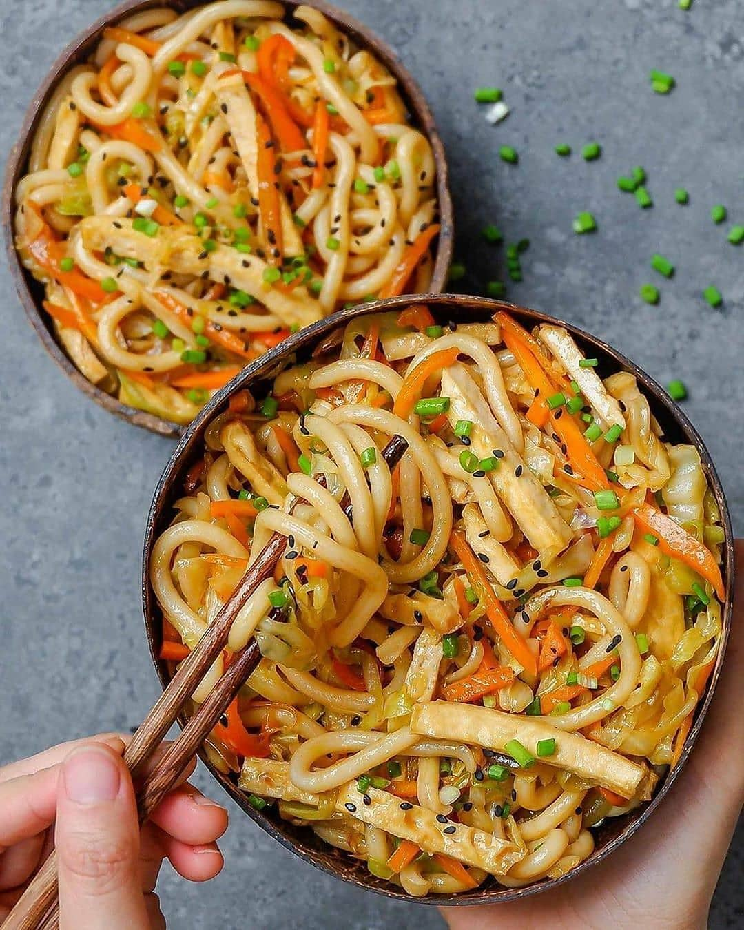 sweet and spicy udon noodle stir fry by thefoodietakesfligh display image  66e1a57c