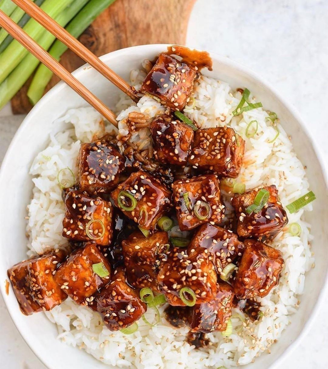 thursday is for asian flavors with some sticky sesame crispy display image  b427ead9