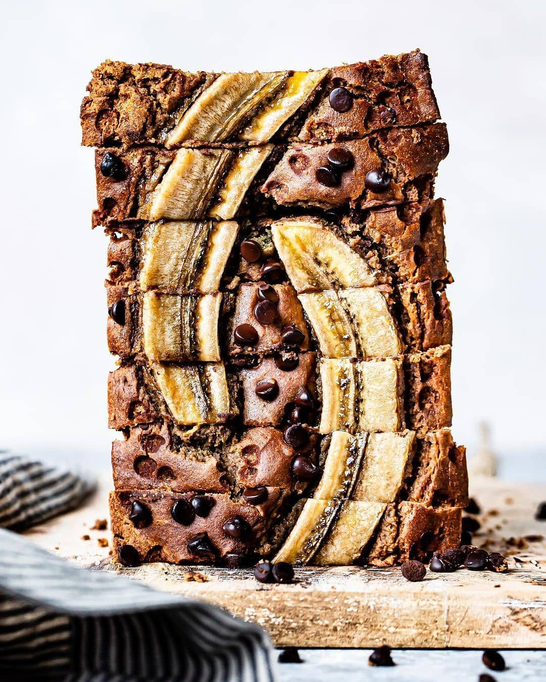 chocolate chip banana bread by healthylittlevittles display image  f8086c2d