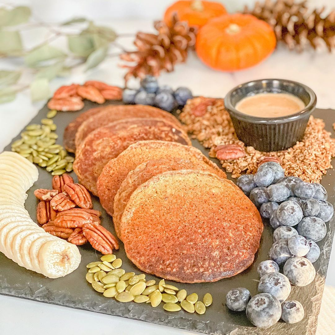 when that fall sunshine hits your pumpkin pancakes just righ display image  8cc81c43