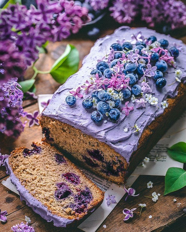 wild blueberry loaf cake  by sculptedkitchen display image  ca9aeef7