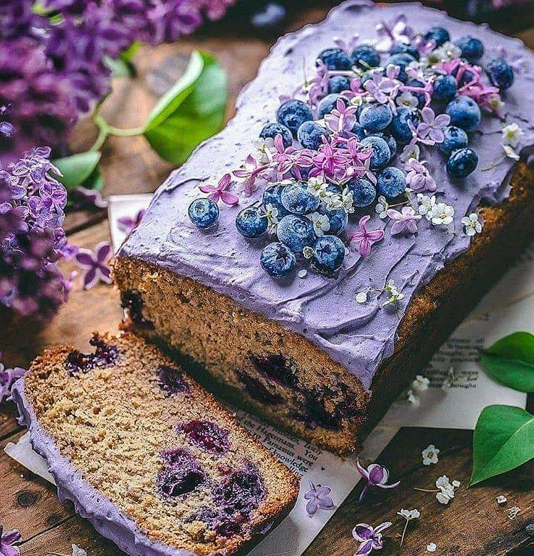 wild blueberry loaf cake by sculptedkitchen display image  aa984e08