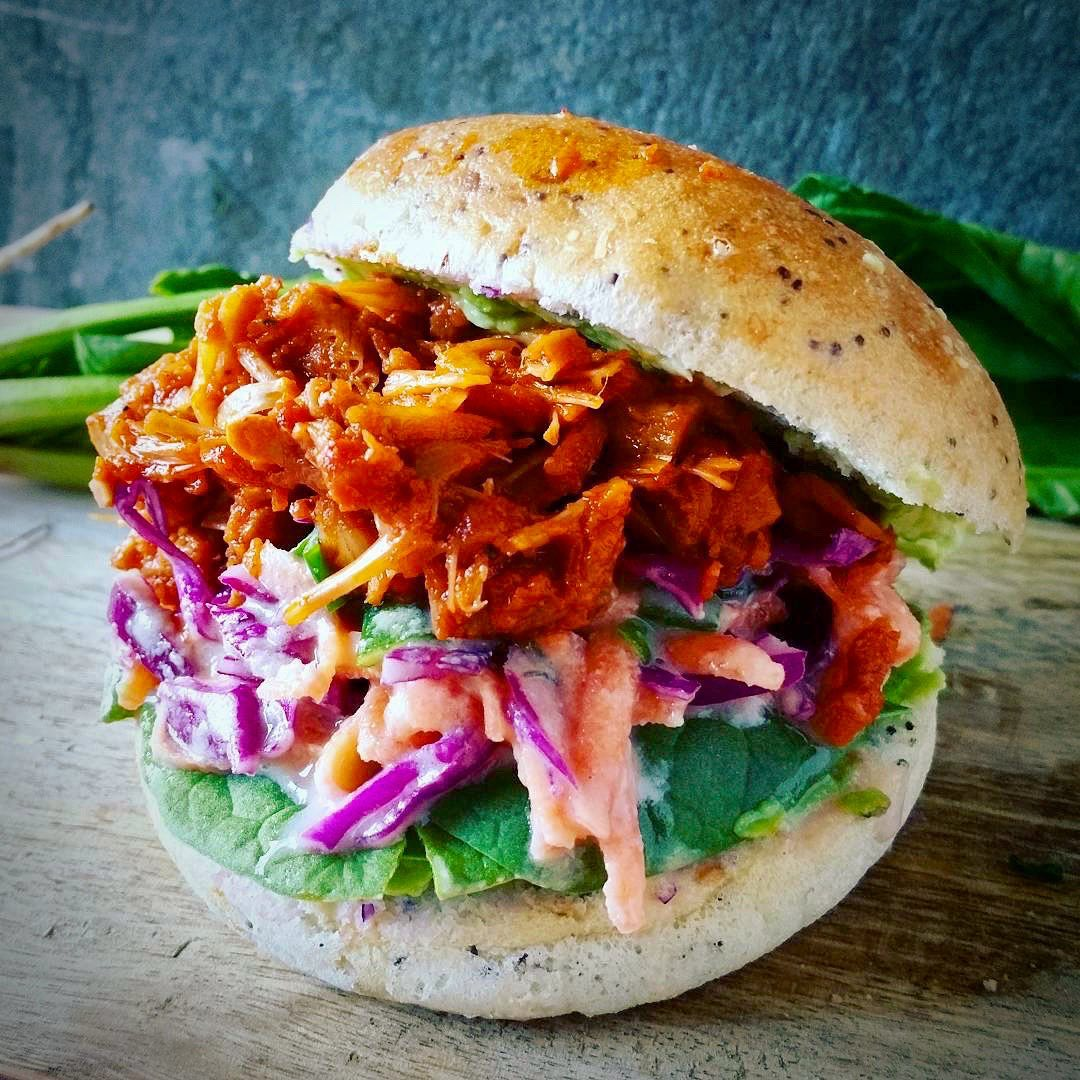pulled pork jackfruit with coleslaw recipes for the j display image  196df5b6