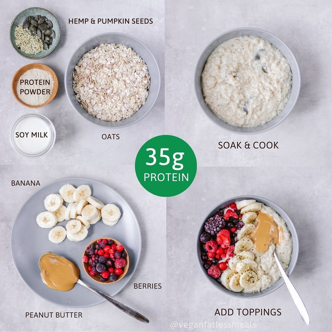 protein power oatmeal display image  a04800b8