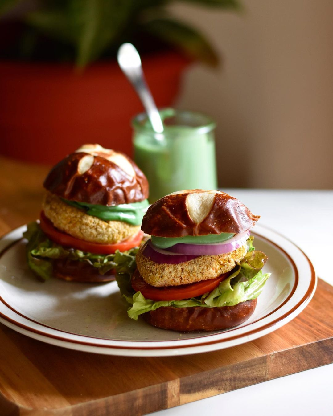 some chili almond crusted chickpea sliders for your sunday display image  c2dab5e0